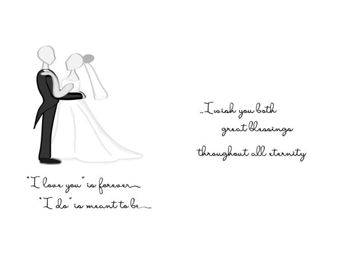 Wedding Card - Commission
